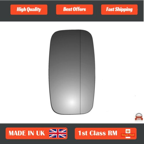 Right Driver Wide Angle Wing Mirror Glass for Renault Maxity 2008-2018 644RAS