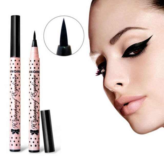 Beauty Black Eyeliner Waterproof Liquid Eye Liner Pencil Make Up Cosmetic Cute