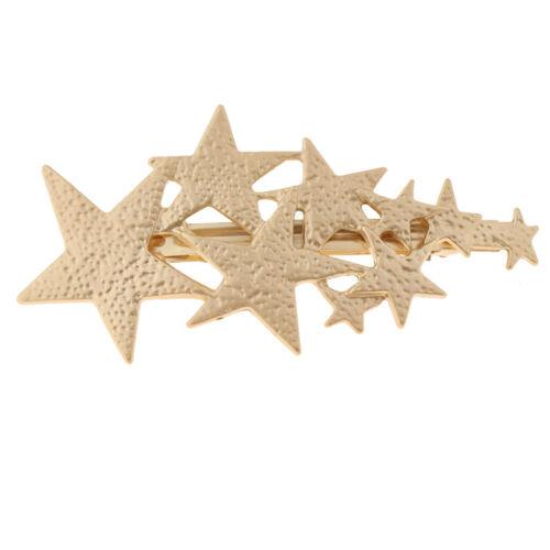 Sterne Haarschmuck Haarklammer Haarspange Clip Haarnadel Barrette Haarkamm