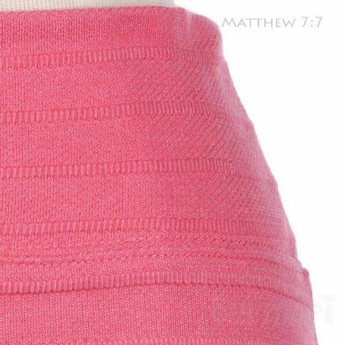 Ribbed Stripes Pencil Fit Mini Short Skirt Cute Stylish Comfy Stretchable Casual