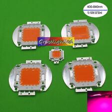 100w 50w 30w 20w 10w Full Spectrum Led Chip 400nm 840nm Plant Grow Light Bead
