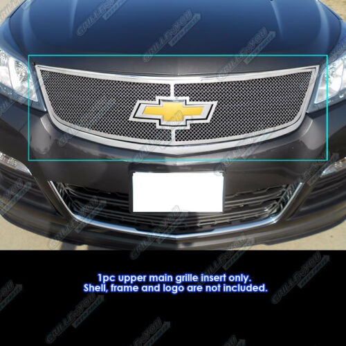 For 2013-2017 Chevy Traverse with Logo Show Stainless Mesh Grille Insert