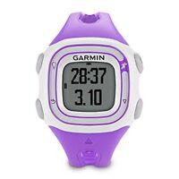 Garmin 010-01039-17 Forerunner 10 Gps Running Watch In Color Violet / White,
