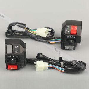 Motorcycle-7-8-034-Handlebar-Horn-Turn-Signals-Electrical-Start-Switch-Yamaha-US