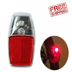 Bicycle Bike Rear Fender Safety Warnning Reflector Tail Cycling Warning Light SY