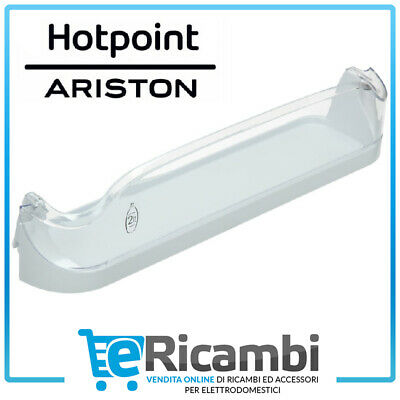 ARISTON HOTPOINT BALCONCINO PORTA BOTTIGLIE FRIGORIFERO ORIGINALE C00283225