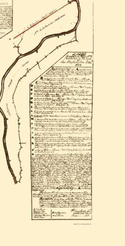 Kanawha River County West Virginia Washington 1774-23.00 x 45.29