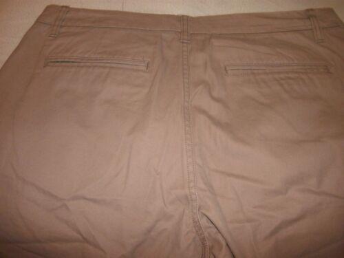 B129 New Bonobos Mens 40x32 Washed Chinos Beige Khakis Straight Fit Leg Pants