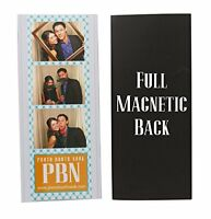50 Vinyl Magnetic Photo Booth Frames 2x6, New, Free Shipping on sale