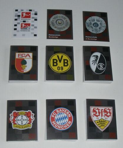 kompletter Stickersatz alle 294 Sticker Topps Bundesliga Sticker 2018//2019