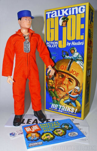 "NEW-2015 /""Talking pilote/"" Figure avec BOX-MIC9B HASBRO 12/""-GI Joe Collector/'s Club"
