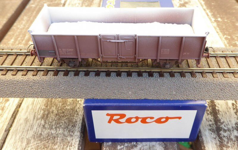 Roco 47798 h0 Open Goods Wagon Aged with gipsladung FS VINTAGE