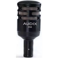 Audix D6 Cardioid Dynamic Instrument Kick Drum Microphone on sale
