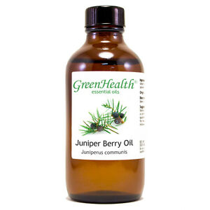 4 fl oz Juniper Berry Essential Oil (100% Pure & Natural) - GreenHealth