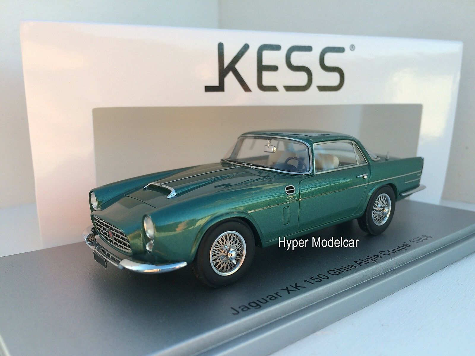 KESS MODEL 1 43 Jaguar XK150 Aigle Coupè 1958 verde Met. Art. KE43029000