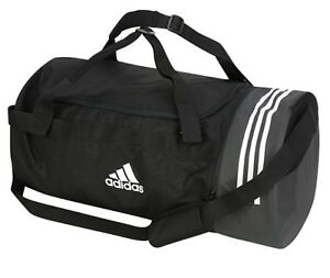 Adidas 3S Training Core X Large Duffle Bags Running Black GYM Bag ... 22a838ea02a3a