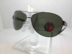 c368aab121 Image is loading AUTHENTIC-RAYBAN-RB3386-004-9A-SUNGLASSES-67MM-RB-