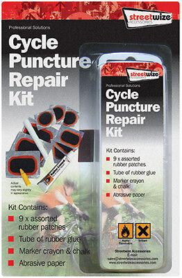 Quality Bicycle Cycle Bike Full Puncture Repair Kit Pack (patch, Cement, Chalk) Eine VollstäNdige Palette Von Spezifikationen