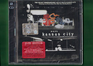 VELVET-UNDERGROUND-LIVE-AT-MAX-039-S-KANSAS-CITY-DOPPIO-CD-NUOVO-SIGILLATO