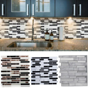 Decals Stickers Vinyl Art 3d Self Adhesive Kitchen Wall Tiles Bathroom Mosaic Tile Sticker Peel Stick Uk Home Garden Leyendas Gob Pe