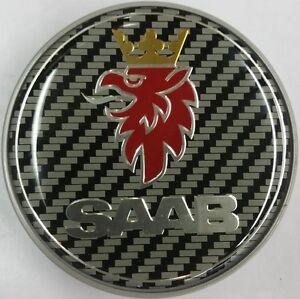 Saab-de-fibra-de-carbono-68mm-Bonnet-Insignia-Emblema-Frontal-de-3-Pines-93-95-9-3-9-5-12844161