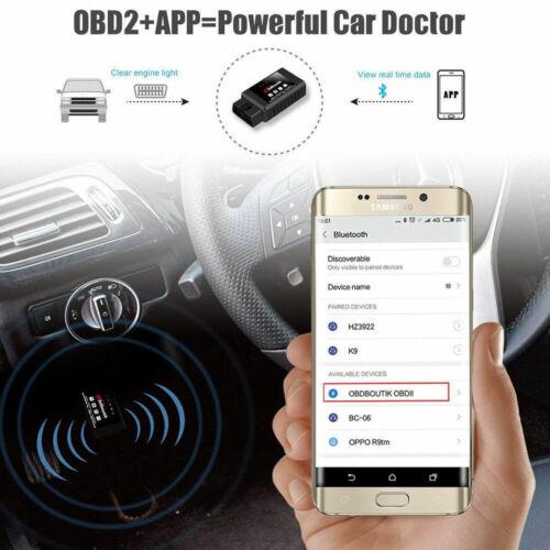 2019 MAZDA ELM327 Bluetooth OBD2 Code Reader Scanner Engine Diagnostic Scan Tool