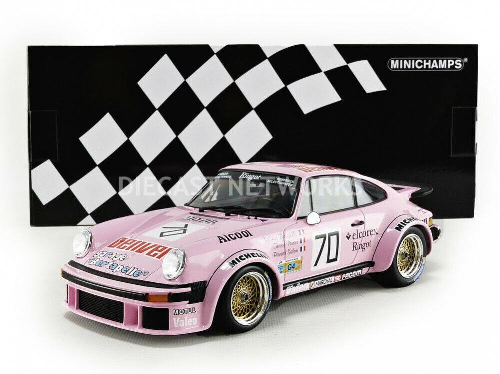 Minichamps  1 18 Porsche 934-Le Mans 1981 - 1558164 70  sortie de vente pas cher en ligne