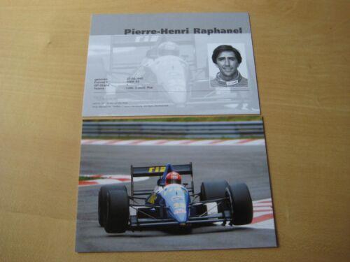 Autogrammkarte limitiert Pierre-Henri Raphanel Rial Card 104