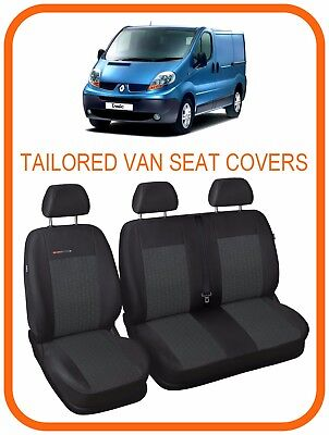 RENAULT TRAFIC VAN 2001-2014 ECO LEATHER TAILORED DRIVER SEAT COVER