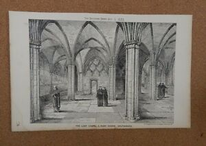 Antique-Architects-print-Lady-chapel-St-Mary-Overie-Southwark