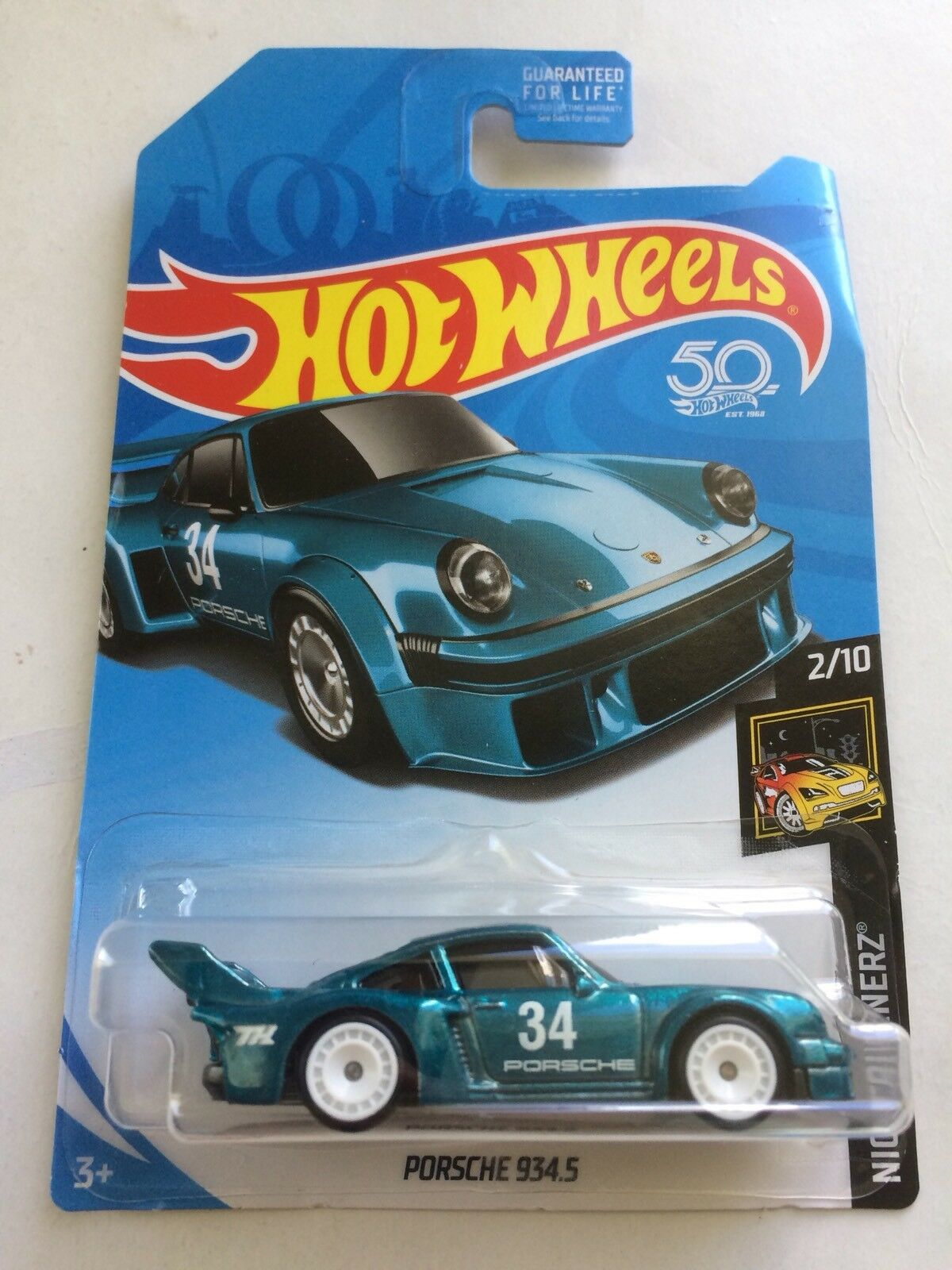Hot Wheels Porsche 934.5 Super Treasure Hunt 2018