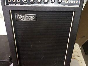 éNergique 70's Marlboro G 50 R Amp Combo-made In Usa-afficher Le Titre D'origine
