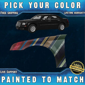 NEW-Painted-To-Match-Drivers-Front-LH-Left-Fender-for-2005-2010-Chrysler-300