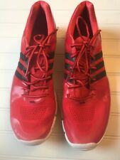 sports shoes 17d9b 18508 ADIDAS Trainer Adipure 360.2 Solar Red Black Mens Shoe Size 12