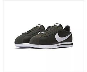 sale retailer f9ee1 edf54 Image is loading Nike-Cortez-Classic-Basic-Nylon-SEQUOIA-OLIVE-DARK-