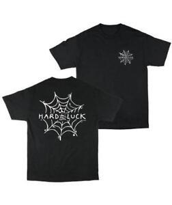 HARD-LUCK-ANDY-ROY-SPIDER-WED-SHORT-SLEEVE-T-SHIRT-BLACK