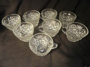 8-Anchor-Hocking-Arlington-Punch-Cups-Mint