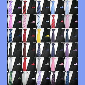 Nouvelle-Saison-Bright-Cravate-Et-Correspondant-a-Poche-Carre-Mouchoir-Qualite-Mariage-evenement-Set