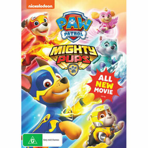 Paw-Patrol-Mighty-Pups-DVD-NEW-Region-4-Australia