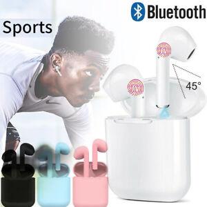 TWS Kopfhörer Bluetooth 5.0 In-Ear Ohrhörer Headsets Ladebox für iPhone Samsung