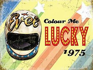 Evel-Knievel-Helmet-039-Colour-Me-Lucky-039-fridge-magnet-og