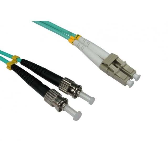 Bluecharge Direct OM4 Cable de red de fibra /óptica LSZH LC a LC 3 m agua