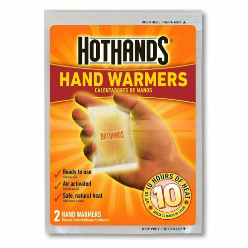 Details about  /HotHands 10 Hour Hand Warmer ☆ Included Crown Mini Bag Holder ☆