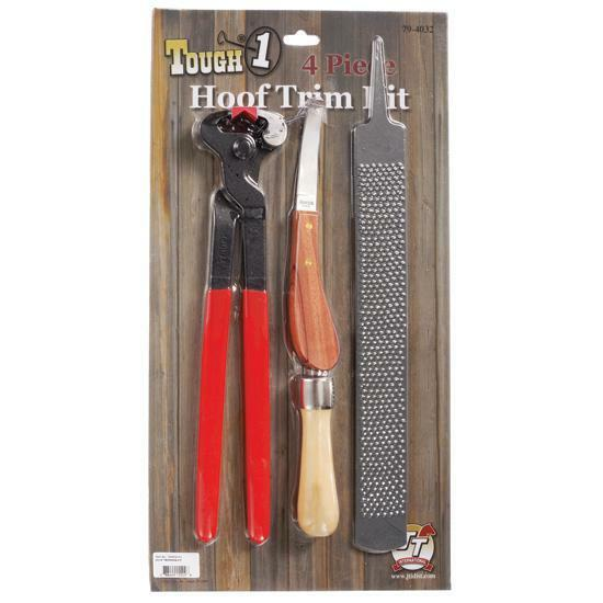 4 Piece Hoof Trim Kit
