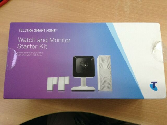 #763 TELSTRA SMART HOME WATCH AND MONITOR STARTER KIT