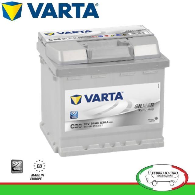 Batteria Varta 54Ah 12V Silver Dynamic C30 554400053