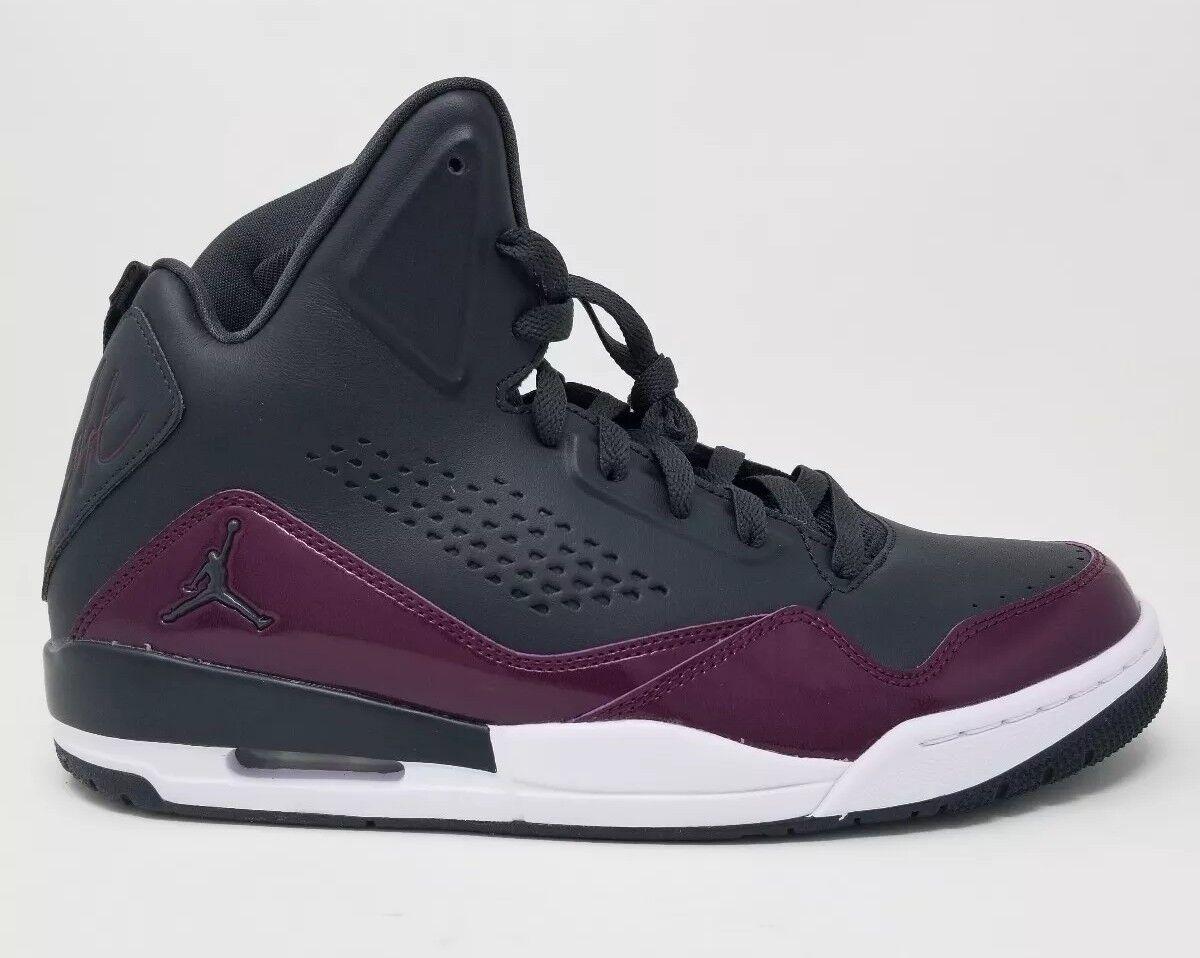 Nike Air Jordan SC-3 Black Anthracite Bordeaux 629877-022 Size 11 DS Flight