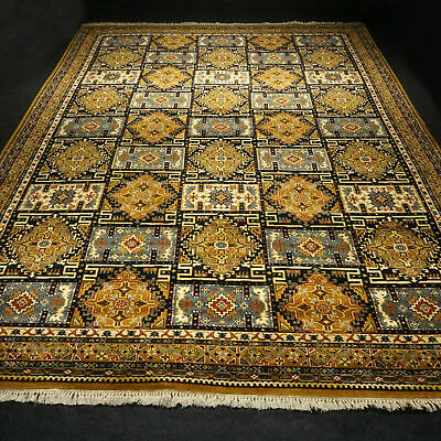 Rugs & Carpets Shock-Resistant And Antimagnetic Obedient Alter Orient Teppich 396 X 297 Cm Felder Muster Old Carpet Rug Alfombra Tappeto Waterproof