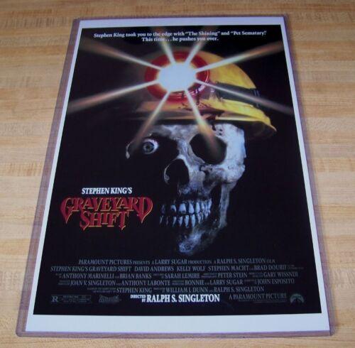 Graveyard Shift Stephen King 11X17 Original Movie Poster
