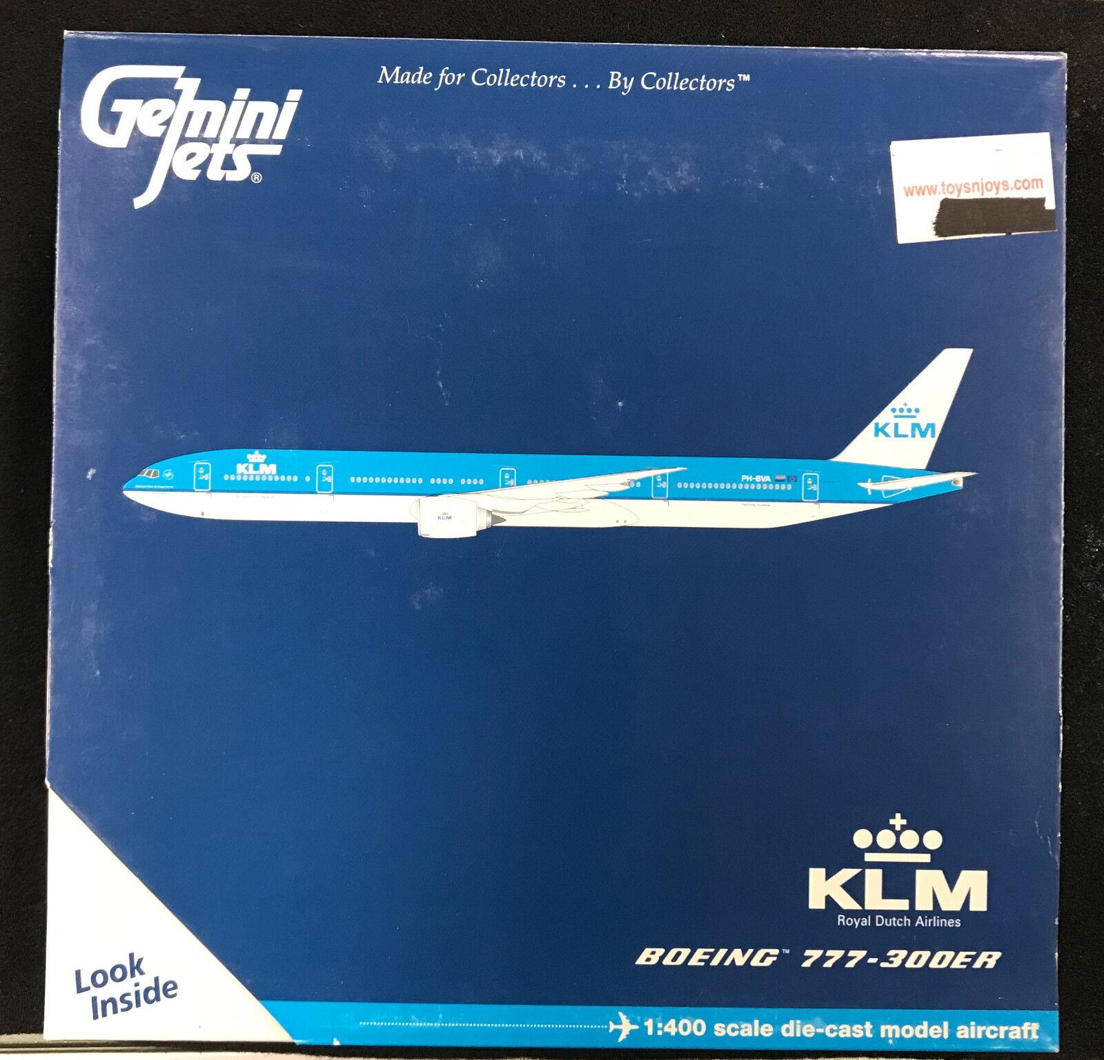 Gemini Jets KLM Royal Dutch GJKLM856 PH -BVA 1 400 B777 -300ER (035)